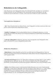 PDF-Version - Hamburg gegen den Schlaganfall