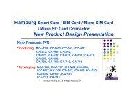 New Product Design Presentation - Hamburg Industries Co., Ltd.