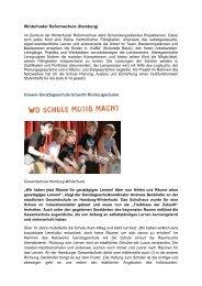 Winterhuder Reformschule - Ganztägig Lernen - Hamburg