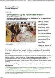 Grundschulen - Ganztagsbetr... - Ganztägig Lernen - Hamburg