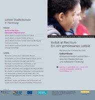 Einladung Vielfalt final2.indd - Ganztägig Lernen - Hamburg