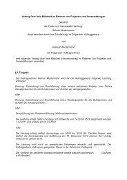 Vertrag über freie Mitarbeit im Rahmen von Projekten und ...