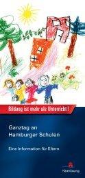 Bildung ist mehr als Unterricht ! - Ganztägig Lernen - Hamburg