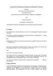 Vertrag über die Einbindung von Experten als Zweitkraft im ...