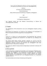 Vertrag über freie Mitarbeit im Rahmen der Hausaufgabenhilfe ...