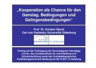 Gliederung - Ganztägig Lernen - Hamburg