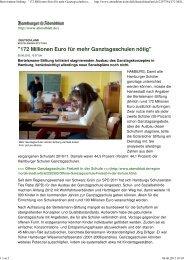 Bertelsmann-Stiftung - Ganztägig Lernen - Hamburg