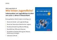 Wie ticken Jugendliche? - Deutsche Kinder und Jugendstiftung