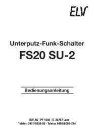 FS20 SU-2 - ELV
