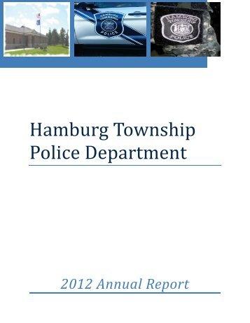 2012 Annual Report - Hamburg Township