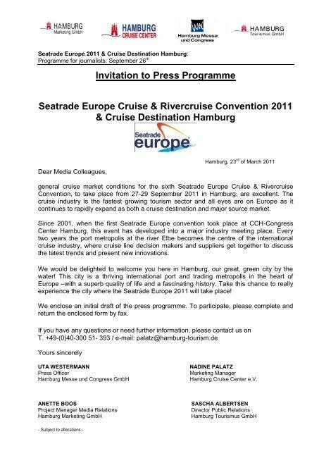 Seatrade Europe_Exclusive Journalist Program.pdf - Hamburg ...