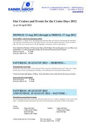 Our Cruises and Events for the Cruise Days 2012 - Hamburg Cruise ...