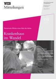 WZB Mitteilungen 113 - Hamburger Illustrierte