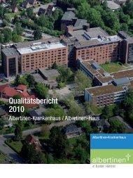 Qualitätsbericht 2010 Albertinen-Krankenhaus (PDF, 3 MB)