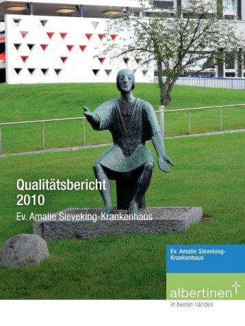 Qualitätsbericht 2010 Ev. Amalie Sieveking-Krankenhaus - Albertinen