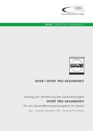 Sport pro Gesundheit - Allgemeiner Deutscher ...