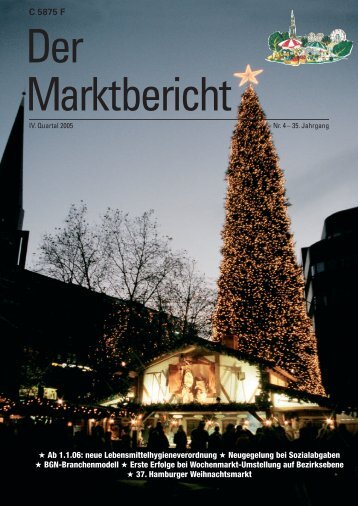 Marktbericht IV. Quartal 2005