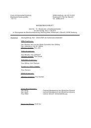 UmweltA - Niederschrift 19. Sitzung.pdf - Hamburg-Mitte-Dokumente
