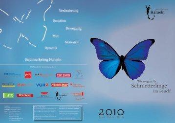 Schmetterlinge - Stadtmarketing