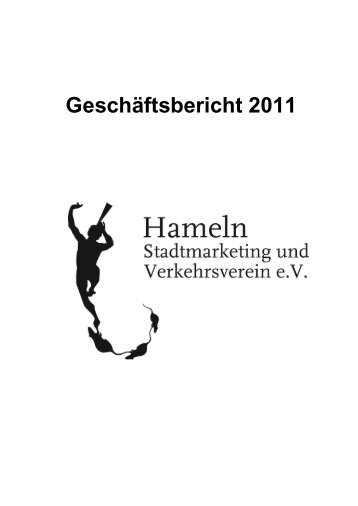 Geschäftsbericht 2011 - Stadtmarketing