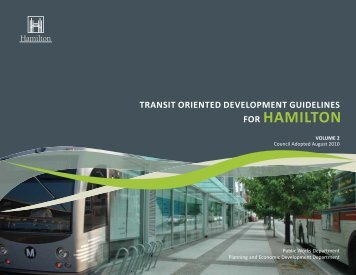 TOD Guidelines - City of Hamilton