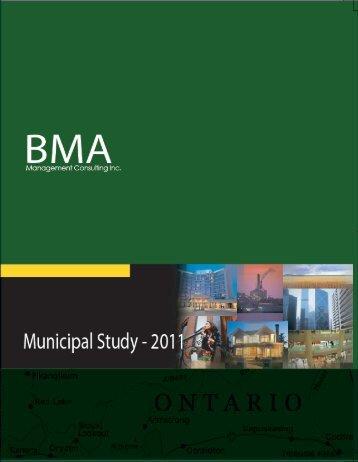 2011 Municipal Study - City of London