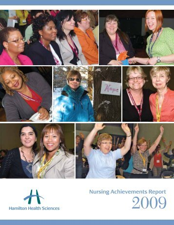 Nursing Achievements Report 2009 - Hamilton Health Sciences