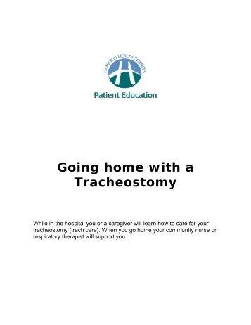 Tracheostomy - Hamilton Health Sciences
