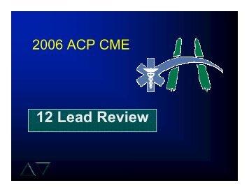 12 Lead Review - Hamilton Health Sciences