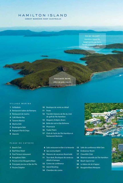 Hamilton island tour desk