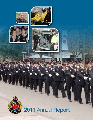 2011 Annual Report - Hamilton Police Services
