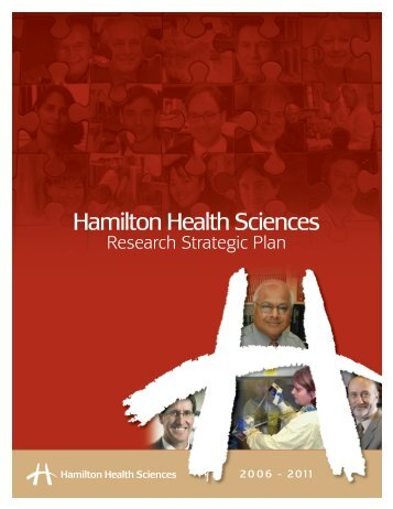 Research developments at HHS over the next 5 years - Hamilton ...