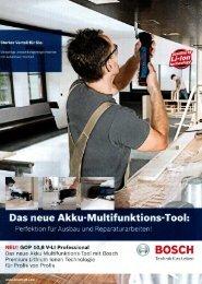 aktuellen Bosch-Flyer.