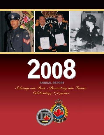 The 2008 Report.pdf - Hamilton Police Services