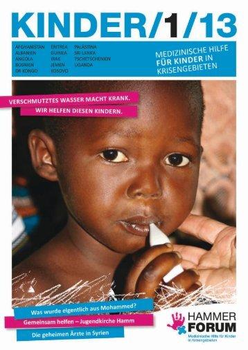 KINDER Magazins - Hammer Forum eV