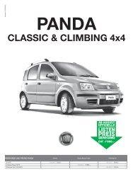 Fiat Panda Classic - Margarethen Garage AG