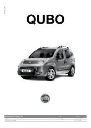 VERSIONEN UND PREISE QUBO - Hammer Auto Center AG