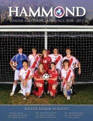 Soccer Senior Athletes Winter and Spring ... - Hammond School