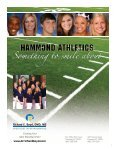 Fall 2010 Athletic Program - Hammond School - Page 3