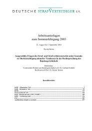 Arbeitsunterlagen zum Sommerlehrgang 2003 - Deutsche ...