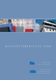 GESCHÄFTSBERICHTE 2008 - Bürgschaftsbank Baden ...