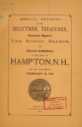 1910 - Lane Memorial Library
