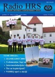 Radio HRS - 4 - Hrvatski Radioamaterski Savez