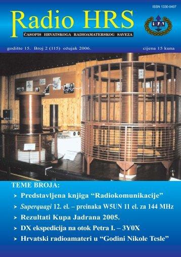 Radio HRS 2/06 - Hrvatski Radioamaterski Savez
