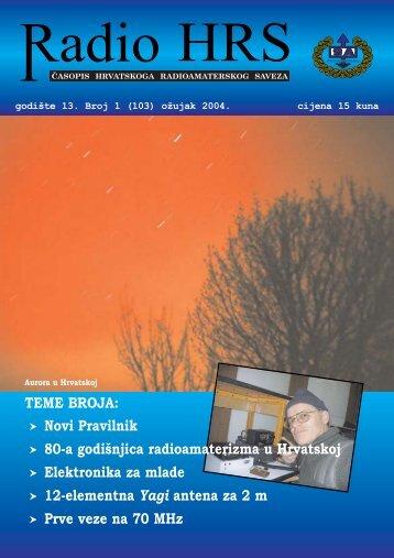 Radio HRS - Hrvatski Radioamaterski Savez