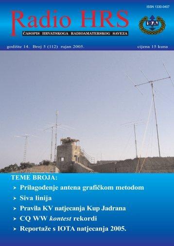 Radio HRS 5/05 - Hrvatski Radioamaterski Savez