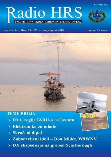 Radio HRS 3/07 - Hrvatski Radioamaterski Savez