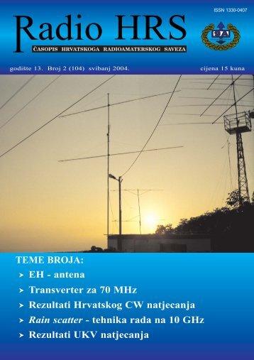 Radio HRS - 2 - Hrvatski Radioamaterski Savez