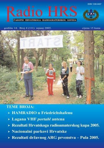 Radio HRS 4/05 - Hrvatski Radioamaterski Savez