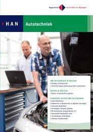 Folder Werkenden Automotive - Hogeschool van Arnhem en Nijmegen